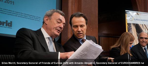 Giles Merrit, Secretary General of Friends of Europe