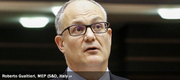 Roberto Gualtieri, MEP, S&D, Italy