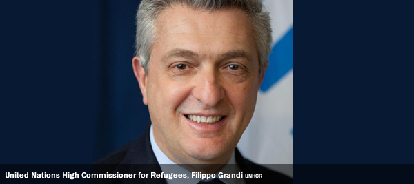 United Nations High Commissioner for Refugees, Filippo Grandi