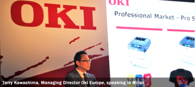 terry-kawashima-managing-director-oki-europe-speaking-in-milan