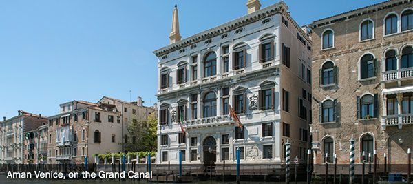 Venice - Aman - EBX Recommends