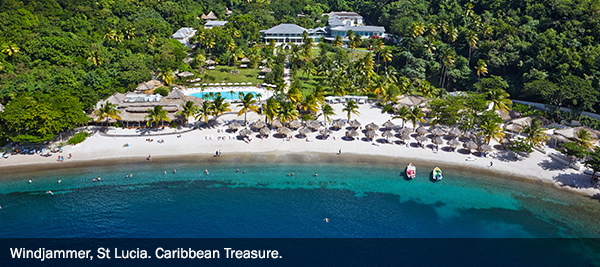 Windjammer, St Lucia. Caribbean Treasure - 2 - EBX Recommends