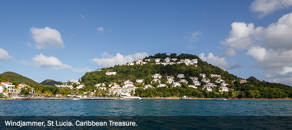 Windjammer, St Lucia. Caribbean Treasure - 3 - EBX Recommends